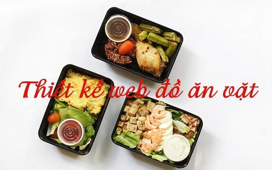 Thiết kế website bán đồ ăn thu hút khách hàng