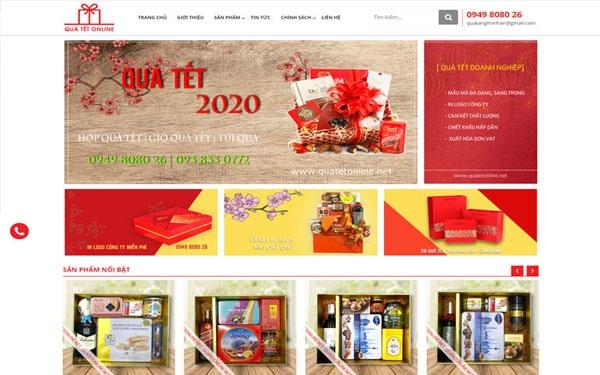Thiết Kế Website Bán Hàng với hơn 200+ dự án khách tại Vietnhan.co