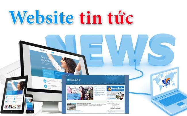 Thiết kế website tin tức