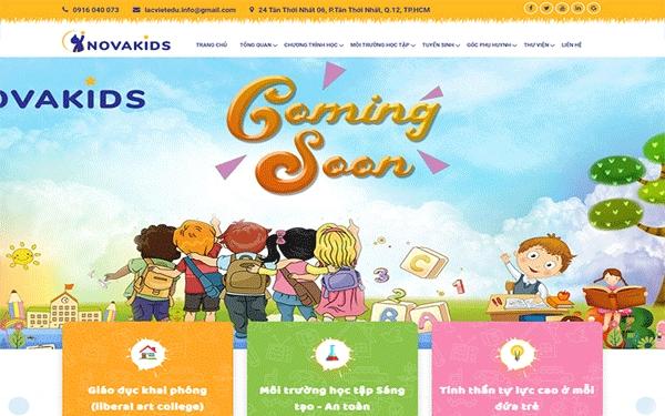 Thiết Kế Website Trường Học Giáo Dục Hiện Đại Và Chuyên Nghiệp